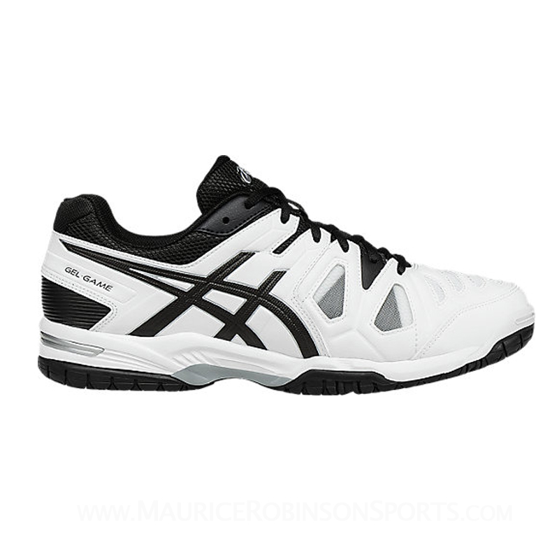Asics Gel Game 5 White-Black-Silver