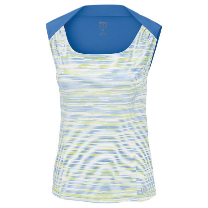 Wilson Ladies W Star Striated Tank