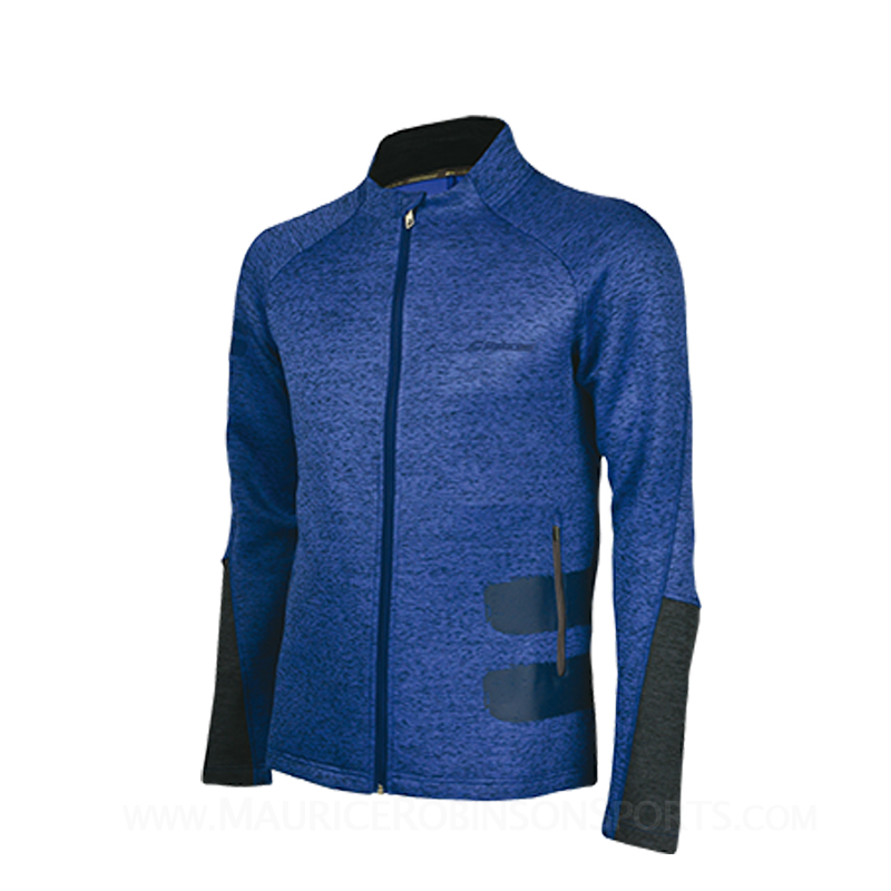 Babolat Mens Performance Jacket Blue Heather