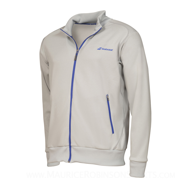 Babolat Mens Performance Jacket Grey