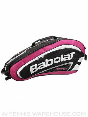 Babolat Badminton Team Line 8 Racket Bag Pink