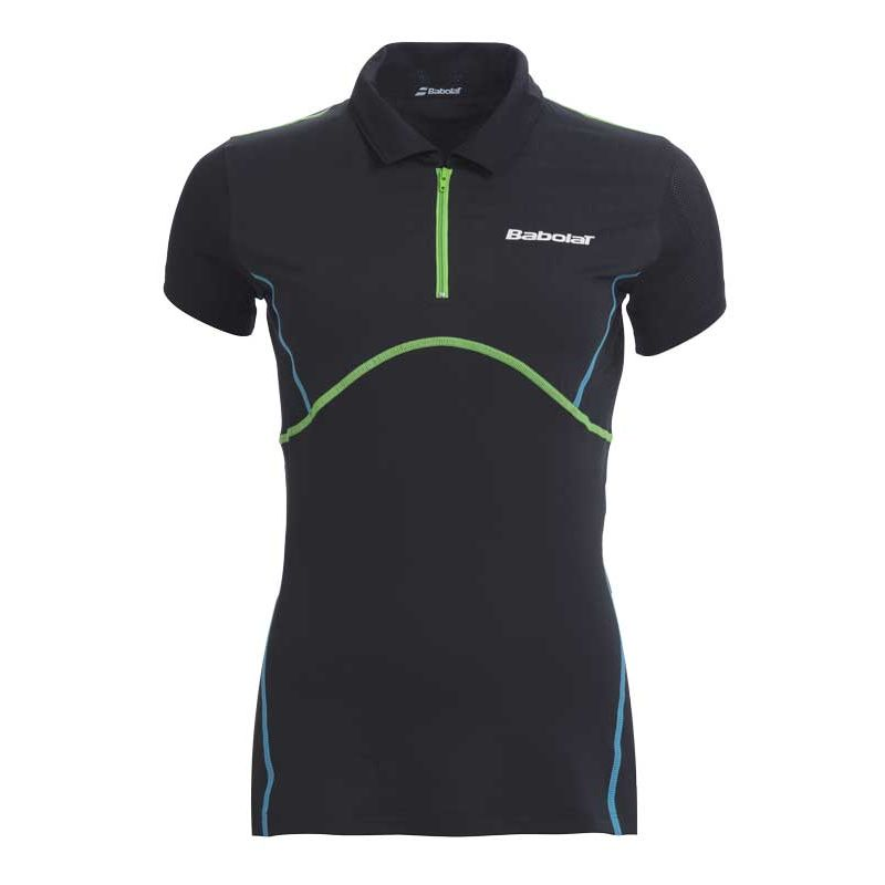 Babolat Ladies Match Performance Polo Anthracite