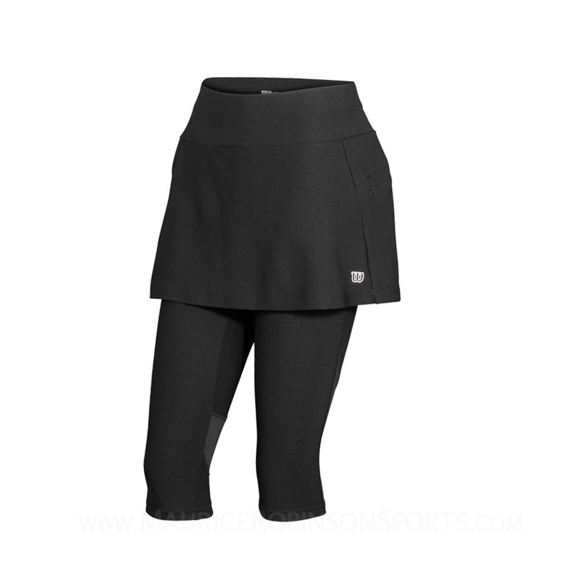 Wilson Ladies Rush Capri Skort Black