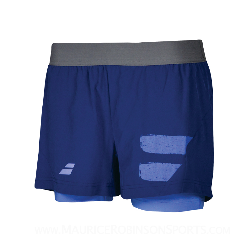 Babolat Ladies Performance Short Blue