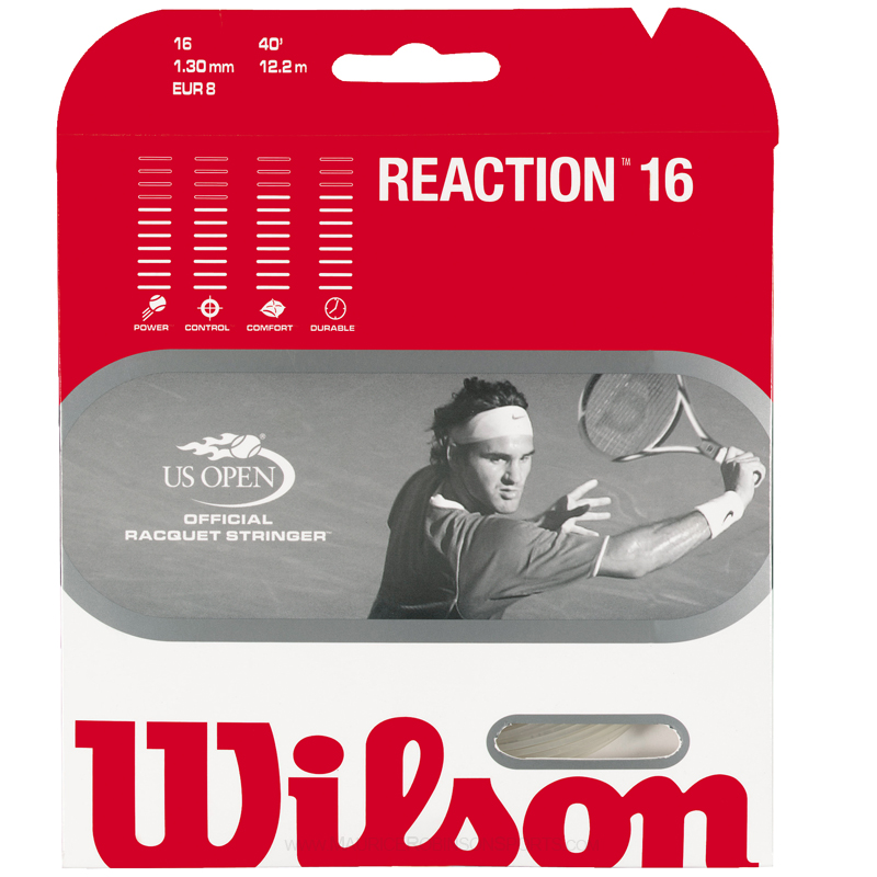 Wilson Reaction Tennis Strings