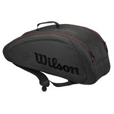 Wilson Federer Team 6 Bag Blk