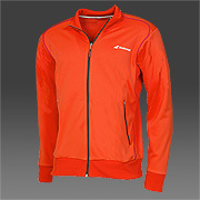 Babolat Boys Performance Sweat Jacket Tomato