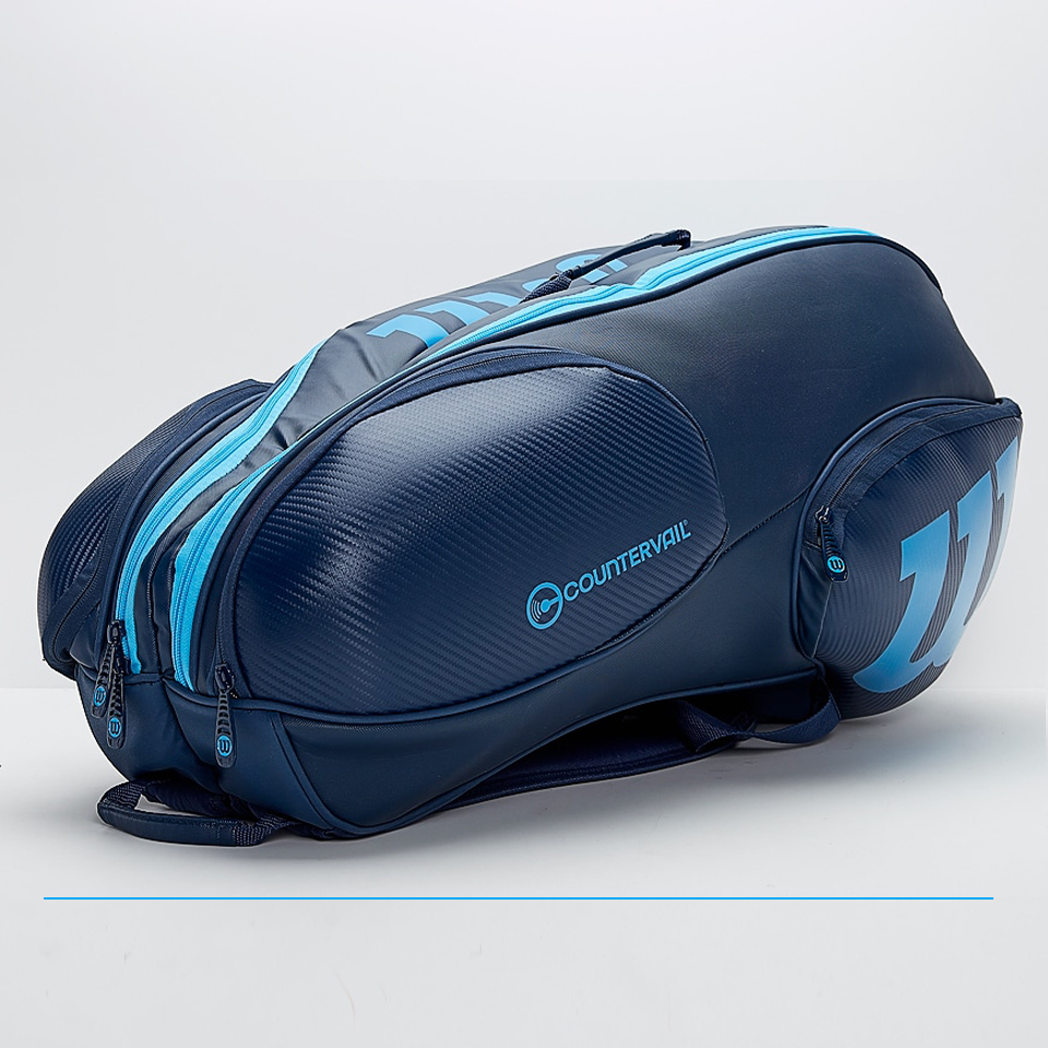 Wilson Vancouver 9 Racket Bag Blue