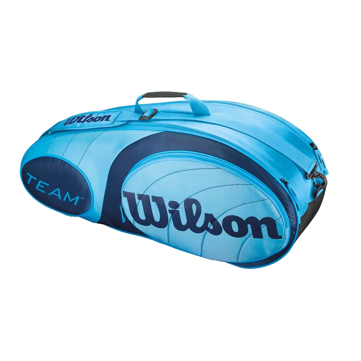wilson team 6 bag blue wilson bags wilson team 6 racket bag can hold ...